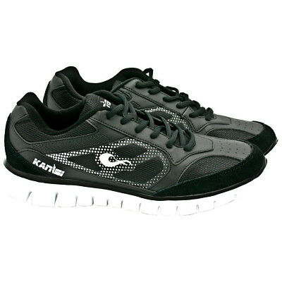 Rival Boxing Kanisi Ultra-Lite Boxing Trainer and Running Shoes - Black/White