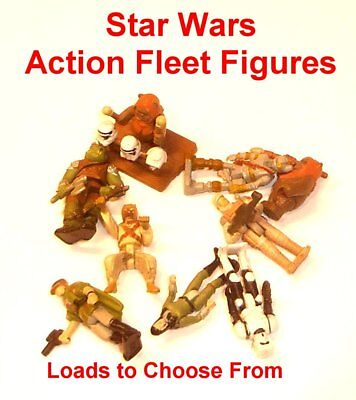 Vintage Star Wars Action Fleet ~ LOADS OF FIGURES TO CHOOSE FROM ~ Figures Only