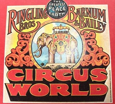 Vintage Lot Of 16 Ringling Brothers Barnum Bailey Circus Postcards 1973