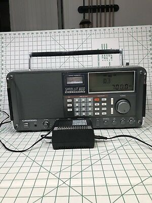 GRUNDIG Satellit 800 AM/MW/LW/SW/AIR/FM Stereo World Band Receiver - Excellent