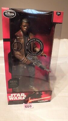 "Star Wars FINN Talking 13.5"" Action Figure Disney NEW BOXED - LOT P600"