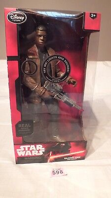 "Star Wars FINN Talking 13.5"" Action Figure Disney NEW BOXED - LOT P598"
