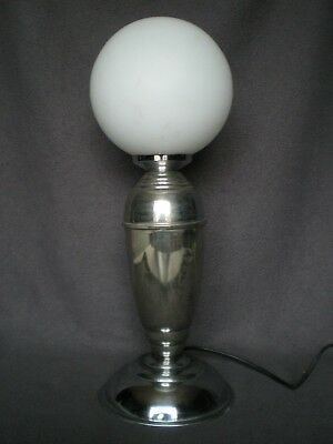 ancien lampe art deco 1930 1950 globe boule vintage lamp design antique 30s 50s