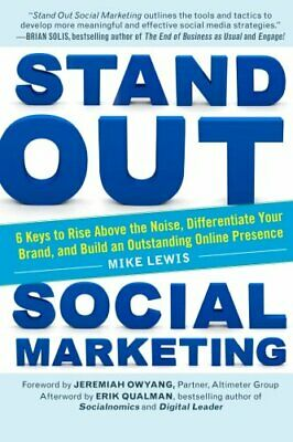 Stand Out Social Marketing by Lewis, Mike Book The Cheap Fast Free Post