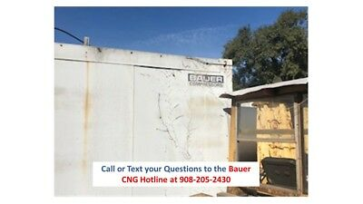 Used Bauer C220 Duplex CNG Compressor - Ford NG 6 Cyl Engine - Very Low Hours