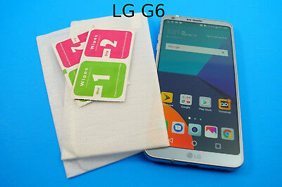 Premium HD Tempered Glass OR Plastic Screen Protectors 9H Hard Lot for LG G6
