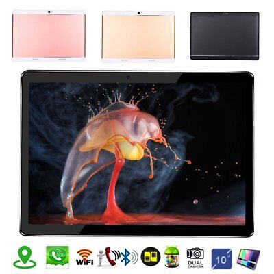 10.1'' Tablet PC Android 7.0 Octa Core 2+16GB 10 Inch HD Screen WIFI 4G Lot AC