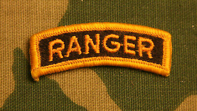 Us Army Ranger Tab; Full Color
