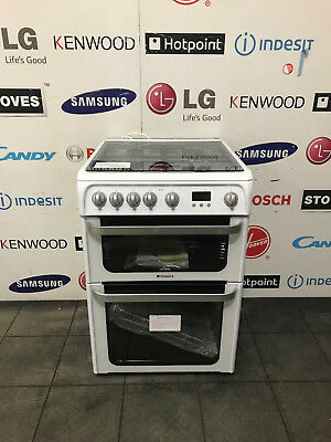 Hotpoint HUG61P Gas double Cavity Cooker [3465]