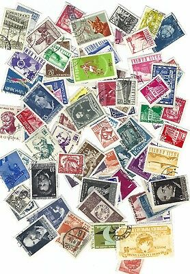 Romania stamps,  350 different, Used