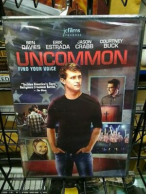 NEW Sealed Christian Drama Widescreen DVD! UNCOMMON (Ben Davies, Erik Estrada)