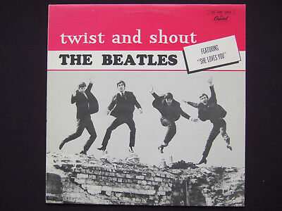 Beatles - Twist and Shout - 3rd generation puple label Capitol of Canada copy