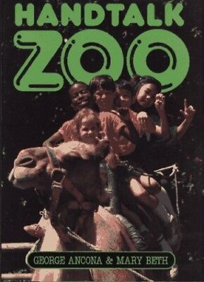 Handtalk Zoo by Miller, Mary Beth Hardback Book The Cheap Fast Free Post
