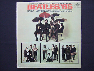 Beatles - Beatles '65 - rare original Canadian mono LP - Capitol of Canada