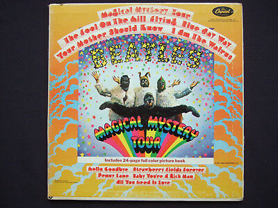 Beatles - Magical Mystery Tour - rare original Canadian mono LP - booklet incl.