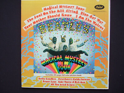Beatles - Magical Mystery Tour - 1st gen. orange Capitol label - booklet incl.