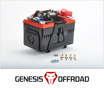 Genesis Offroad Dual Battery Kit w/ 200 Amp Isolator for 2007-2018 Toyota Tundra
