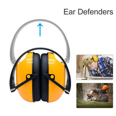 23dB Folding Ear Defenders Comfort Protection Padded Head Band Builders Ear Muff