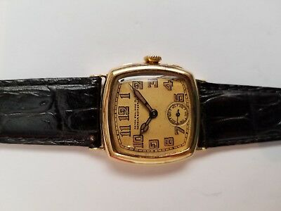 Patek Philippe Very Early Watch (circa 1927) w/ Luminous Hour Indexes and Hands