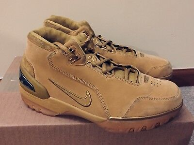 Nike Air Zoom Generation Lebron Wheat 308214 771 2004 OG Preowned Size 8