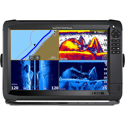 Lowrance HDS-12 Carbon MFD with C-Map Insight No Transducer [000-13686-001]