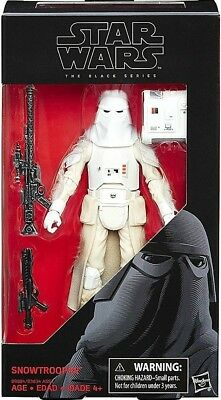 """Star Wars Black Series Snowtrooper 6"""" #35 Action Figure Free Shipping 2-3 Days"""