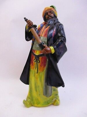"Royal Doulton Figurine - H.n.2105 ""blue Beard"" - 10.5"" Tall(43I)"