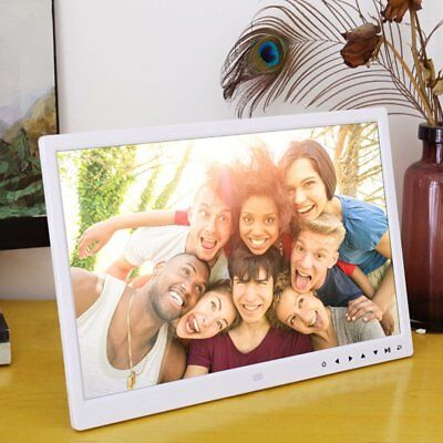 Digital Photo Frame 1209T 12 Inches Electronic Picture Frame Clock Calendar FK