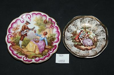 ThriftCHI ~ Limoges France Hand Painted Small Dish & Kalabar Porcelain Dish