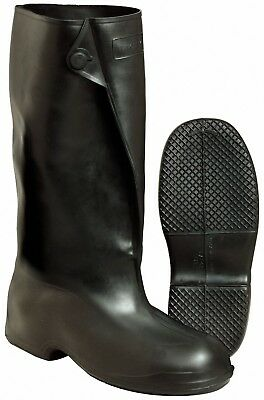 """NEW Tingley 1500 Overshoe Boot 17"""" Sz Small 6.5 - 8 Rubber Button  Black"""