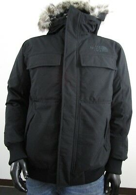 3f23228a5 NWT MENS TNF The North Face Gotham 550-Down Parka Insulated Hooded Jacket  Black