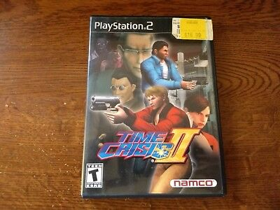 Time Crisis II (Sony PlayStation 2, 2001) Black Label Complete