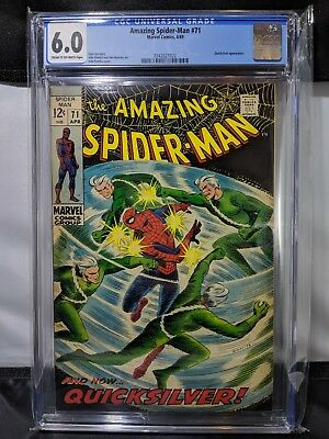 Amazing Spider-Man #71 Comic Book CGC 6.0 Cream to Off-White Pages Grade MARVEL