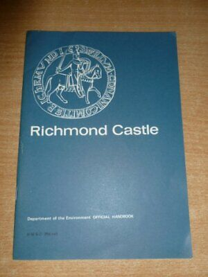 Richmond Castle, Yorkshire (An English Heritage handbook) by Peers, Charles The