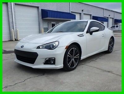 2013 Subaru BRZ LIMITED AT PADDLE SHIFT NAV HEATED SPORT SEATS XENON 2013 BRZ LIMITED PEARL WHITE AT NAV HEAT SPORT SEAT XENON AC SHARP BUY IT NOW