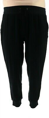 Tracy AndersonGILI Baby Terry Jogger Noir Black L NEW A309742