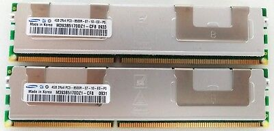 8GB (2X4G) PC3-8500R DDR3-1066Mhz Memory For Apple Mac Pro 2009 MacPro4,1