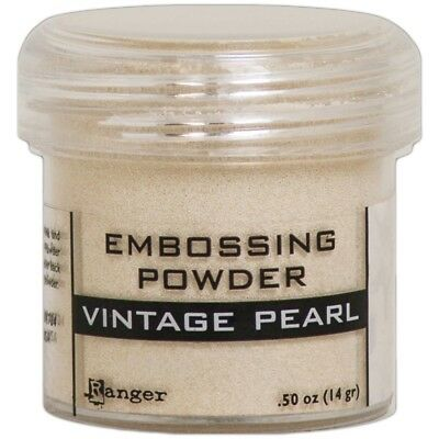 Ranger Embossing Powder 1oz. - Vintage Pearl