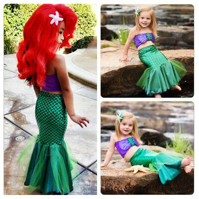 Disney Store Little Mermaid Ariel Baby Girl Bodysuit Snapsuit 9-12 months NWT