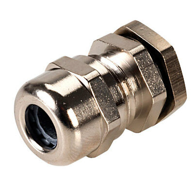 Hylec 50.007 PG7 Brass Dome Cable Gland