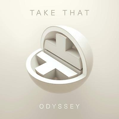 TAKE THAT 'ODYSSEY' (Best Of) 2 CD Deluxe (Ltd Hardback Book Edition) (2018)