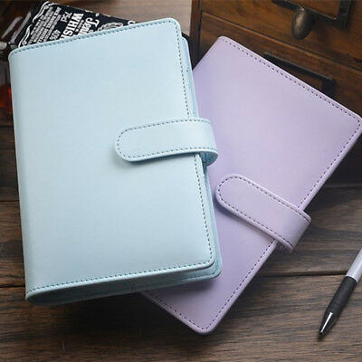 A5 Classic Weekly Monthly Planner Diary Loose-Leaf-Ring-Binder Notebook Cover