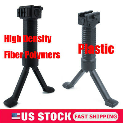 20mm Tactical Rifle Bipod Hand Fore Grip Vertical Foregrip Picatinny Weaver Rail