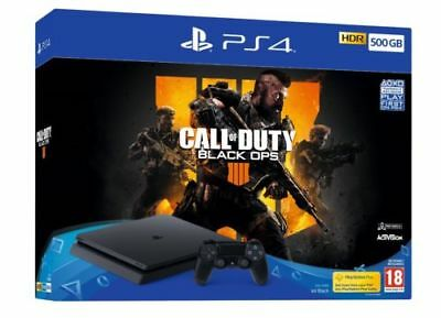 EMPTY BOX ONLY - Sony Playstation 4 - PS4 500GB - Packaging Fifa 19 - Spiderman