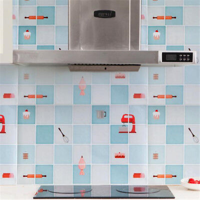 Adhesive Waterproof Heat-resistant Oil-proof Kitchen Wall Stickers 8C