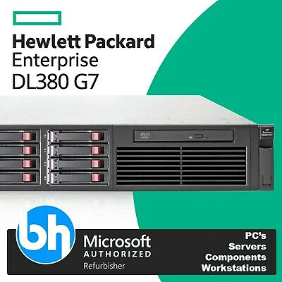 HP ProLiant DL380 G7 2x Intel Xeon Quad Core L5630 8GB RAM P410 2U Rack Server