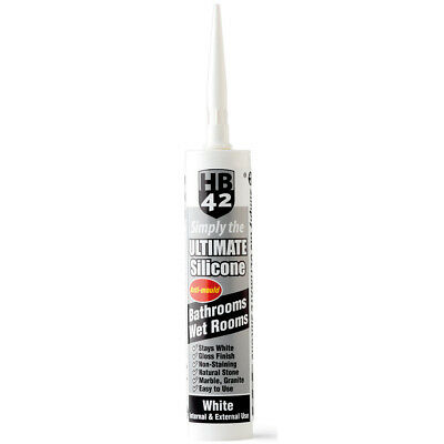 HB42 Ultimate Silicone White 310ml Cartridge Best in Class UK Supplier