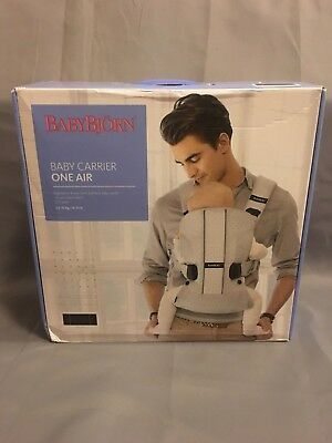 Baby Bjorn Baby Carrier One Air Black Mesh NEW Free Shipping from EU!
