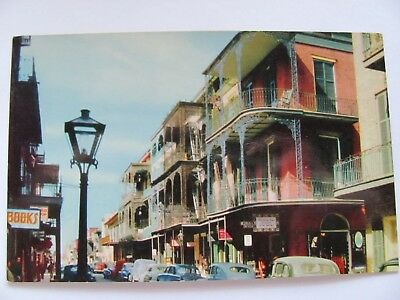 Saint Peter St., New Orleans Vintage Postcard