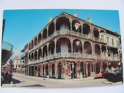 Lace Balconies, 700 Royal St., New Orleans Vintage Postcard